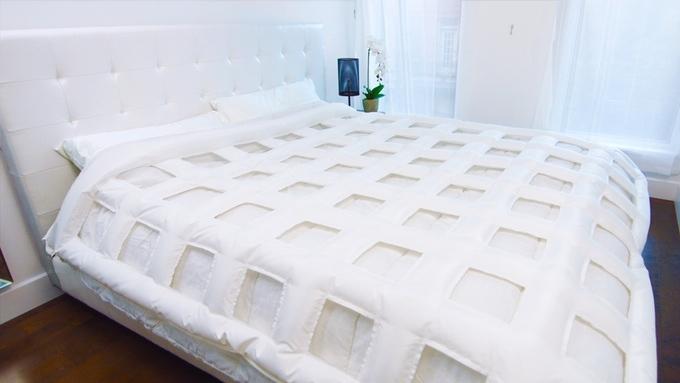 自動でベッドメイクする布団「SMARTDUVET」