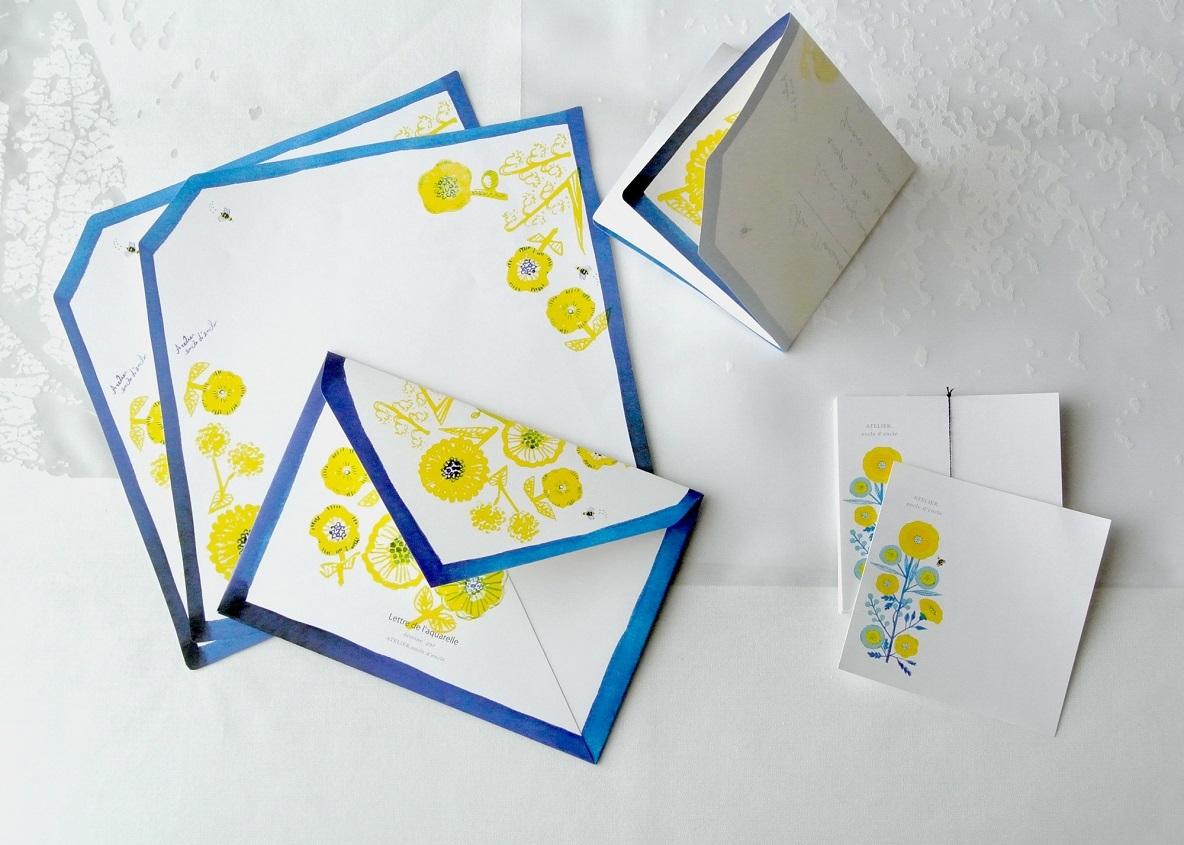 シックでエレガントな配色ながら、美しいレタリングやパッケージの「ATELIER. encle d'encle(アトリエ アンクルダンクル)」