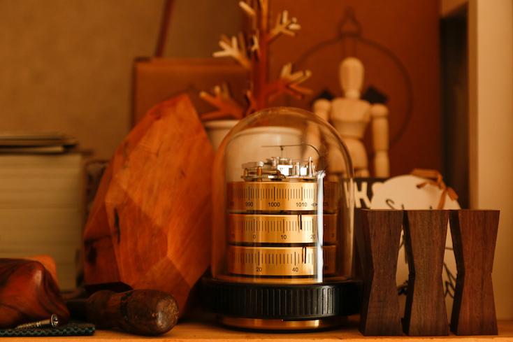 バリゴ社の温湿気圧計