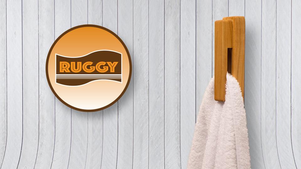 新しい発想のハンガー「Ruggy」の紹介