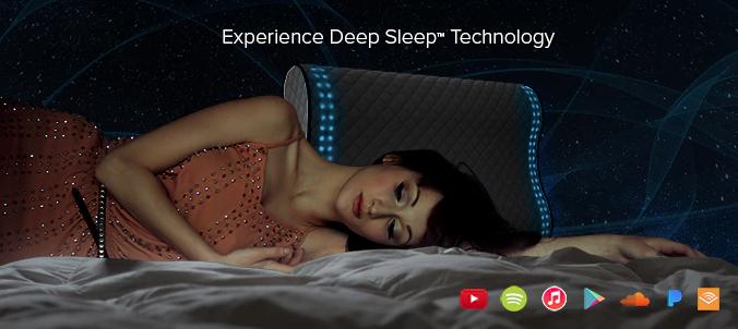 センサーで睡眠の深さをトラックし、眠りが浅くなったところで目覚ましをかけてくれる機能もある