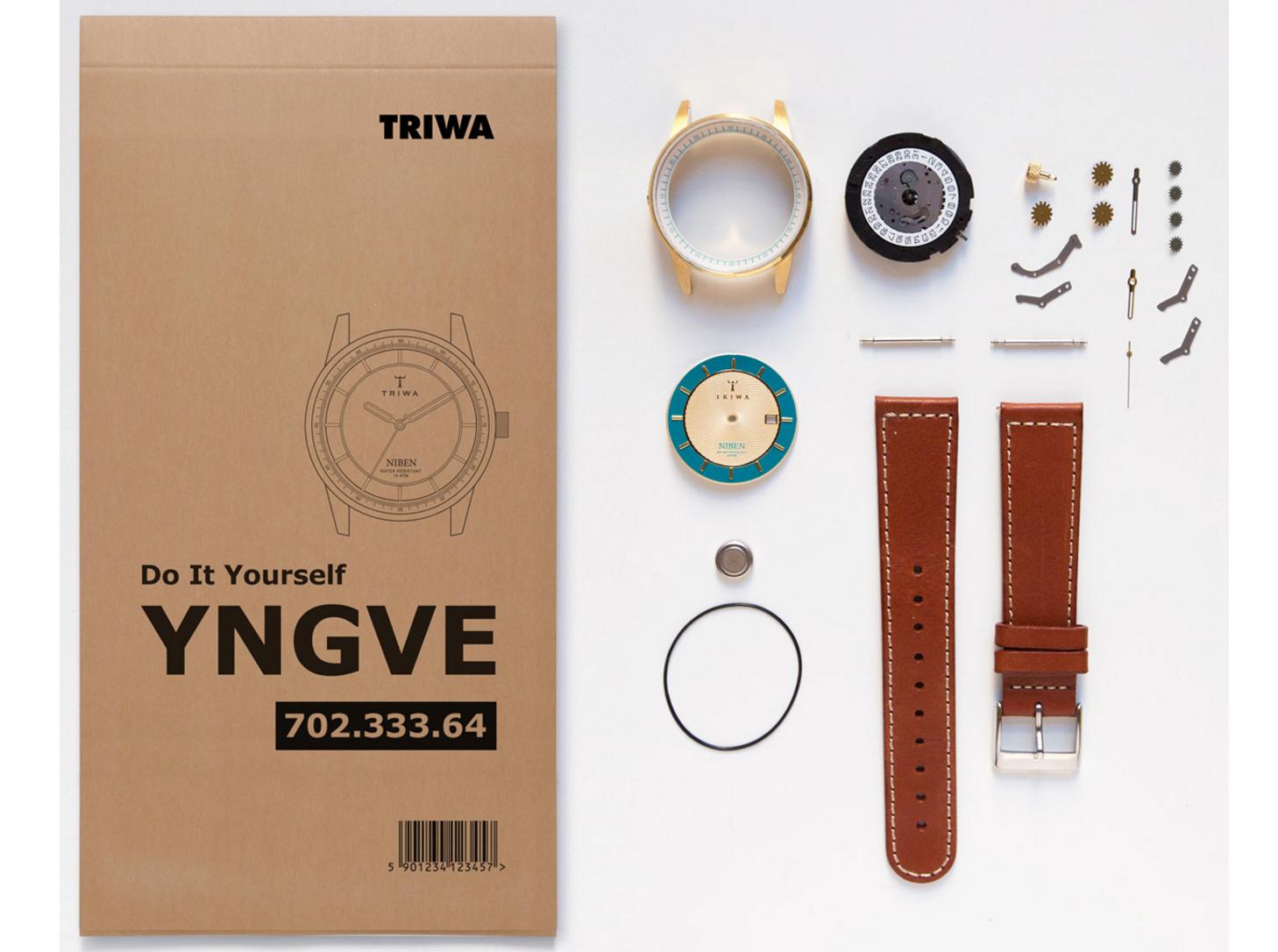 分でじっくり組み立てる、スウェーデン発のDIY腕時計