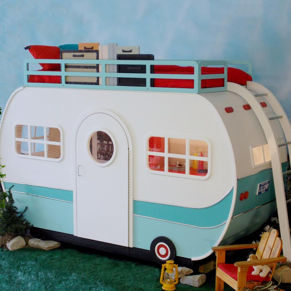 遊び心満載で、子供部屋作りの参考にもなる。キッズ用ロフトベッド3選