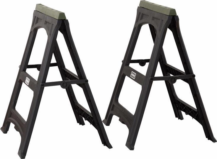 簡単にテーブルがDIYできる折畳み式の脚「WORK LEG」