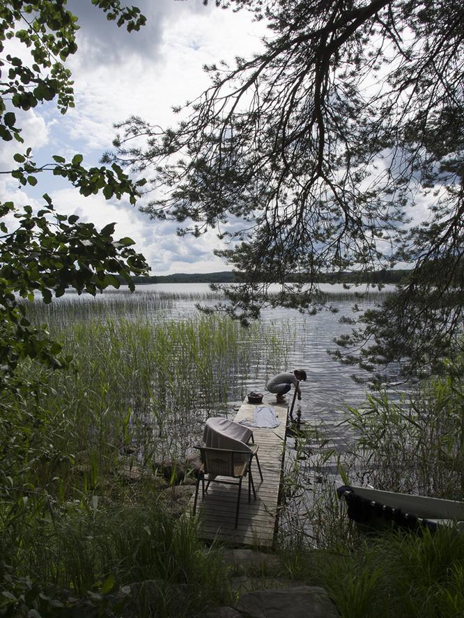 フィンランドののんびりしたコテージ文化
