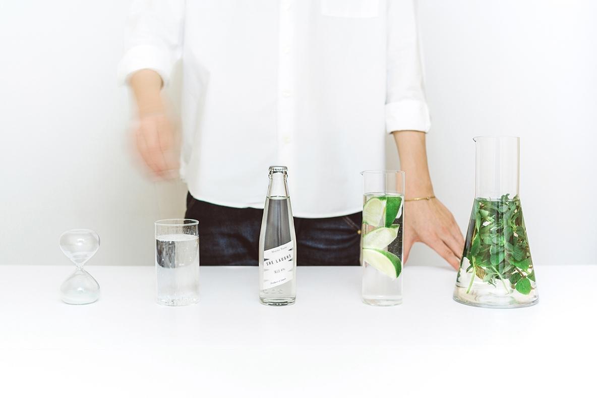 イエルバ・ブエナという無農薬ミントを使った強い香りが特徴の、モヒートテイストのノンアルコール飲料。