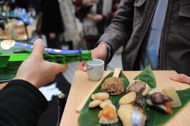 日本酒を楽しむイベントAoyama Sake Flea Vol.6
