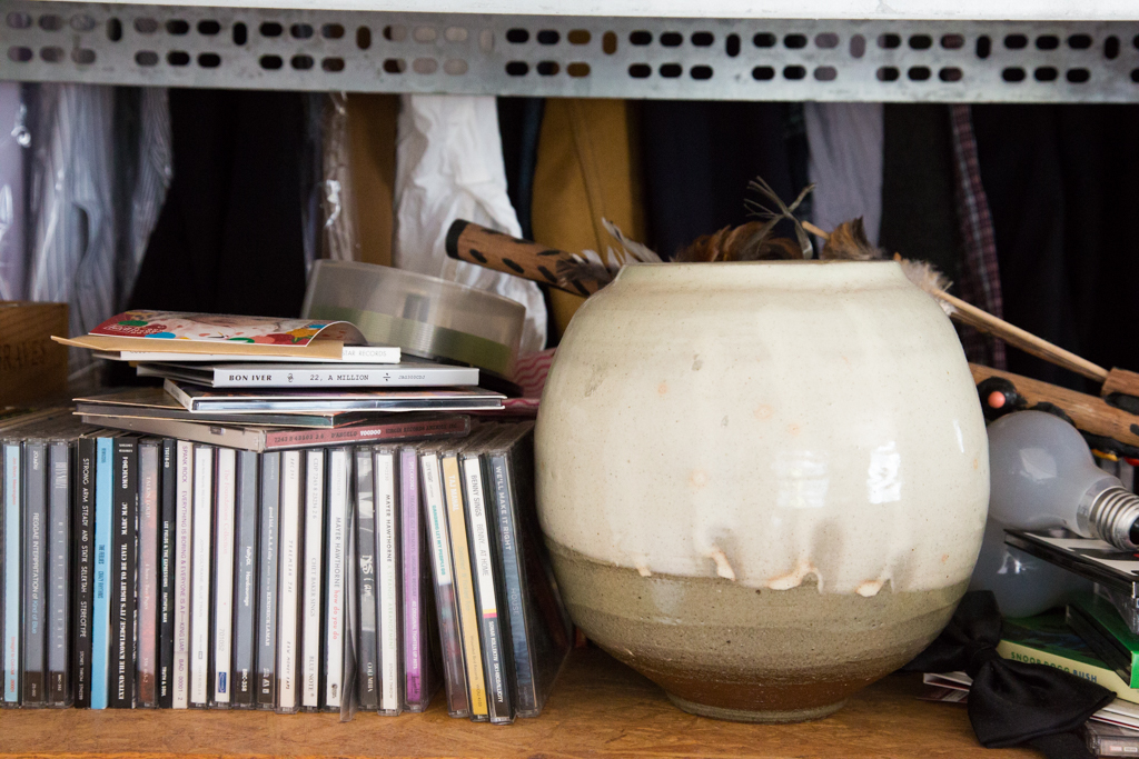 自作の陶器