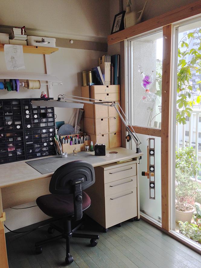 DIY好きの人の作業机