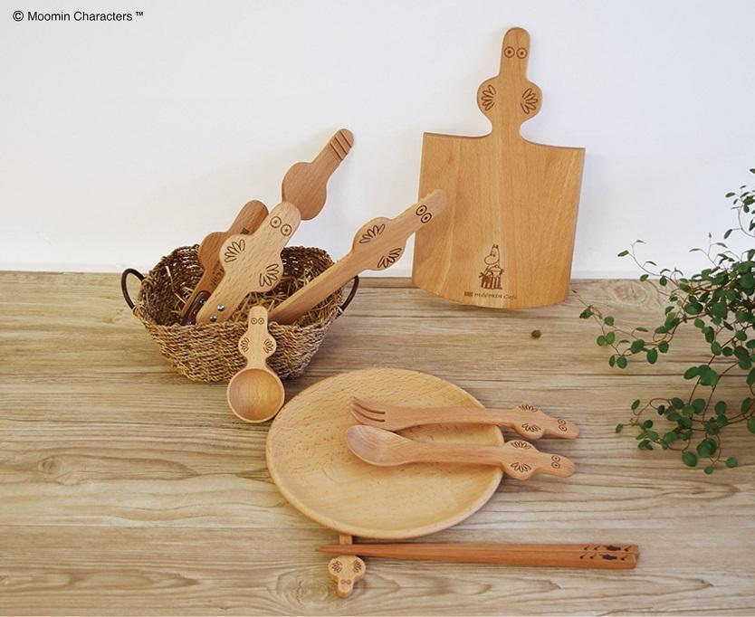 フィンランドの童話『ムーミン』に登場する主役級の脇役ニョロニョロをモチーフにしたキッチンシリーズ