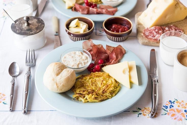 スイスのおいしい朝ごはん