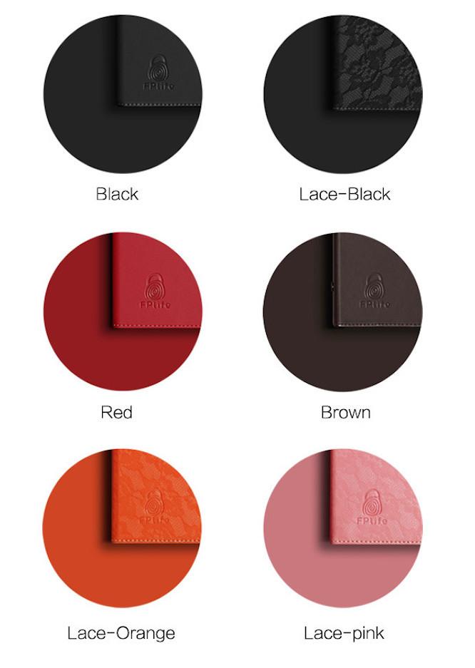 色は全部で6種類