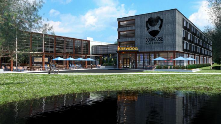 「ビール王国」を構想しているのが、スコットランドのクラフトビール会社「BrewDog」