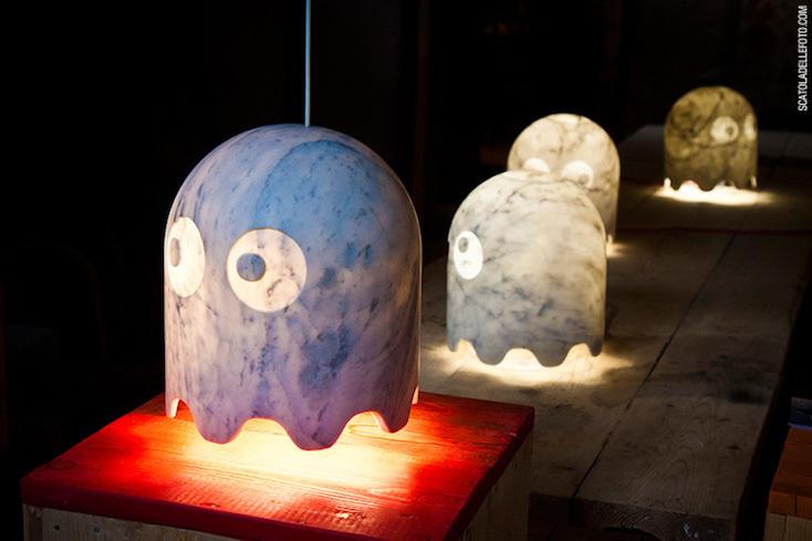 ゴーストをモチーフとしたランプは複数の種類を展開