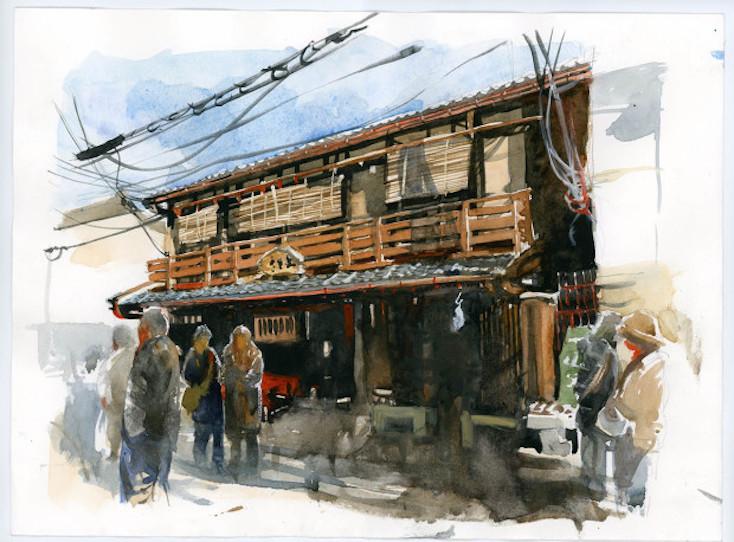 「Small Buildings of Kyoto」の製作費用はindiegogoにて集められることになった