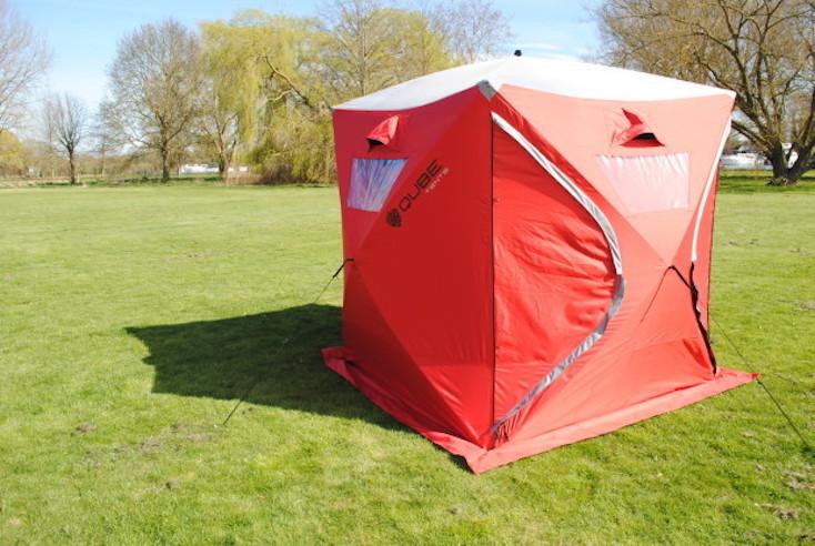 ボックス型テント「Qube Tents」の紹介
