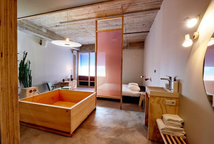 風呂を楽しむための部屋