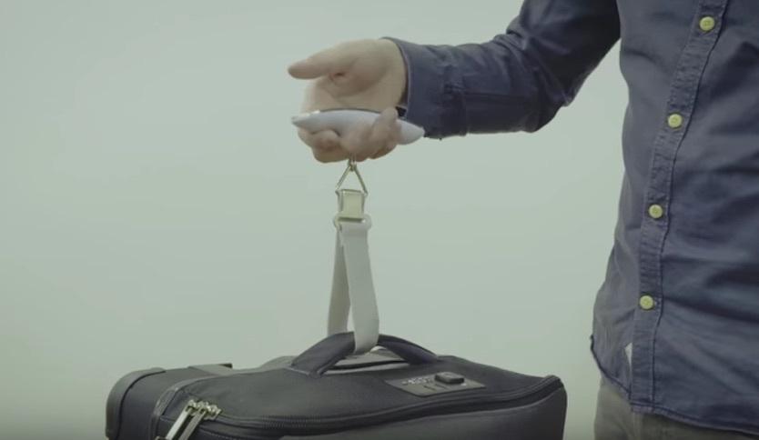 コンパクトなスーツケース