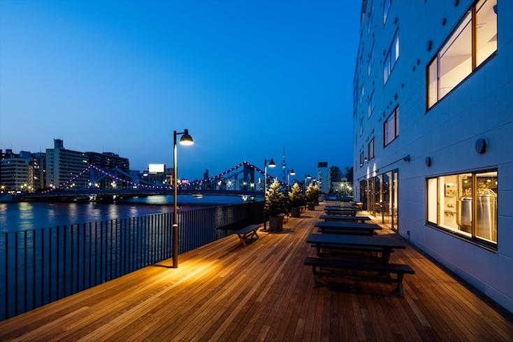 隅田川が綺麗に見えるホテル