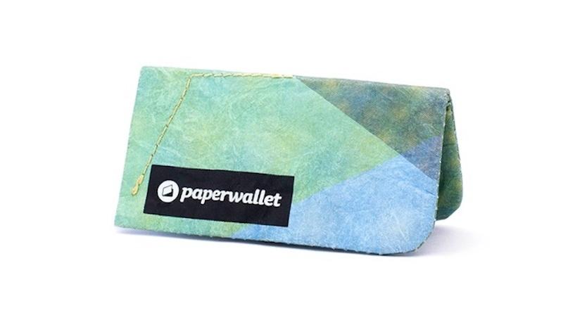 紙のように薄く、丈夫なおサイフ「paperwallet」の紹介
