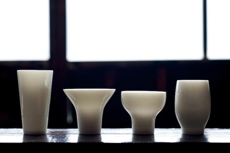 ツボミ型の盃