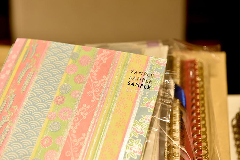 活版印刷で名入れできるノート