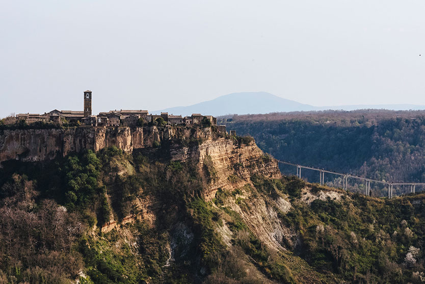 イタリアの古代集落・Civita