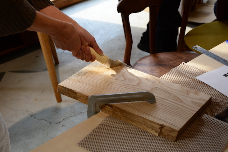 DIY初心者でもOK。家具職人が教える「家具材でカッティングボード作り」