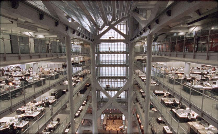 ノーマン・フォスターのかっこいい建築物