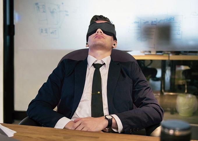 仮眠に最適なアイマスク
