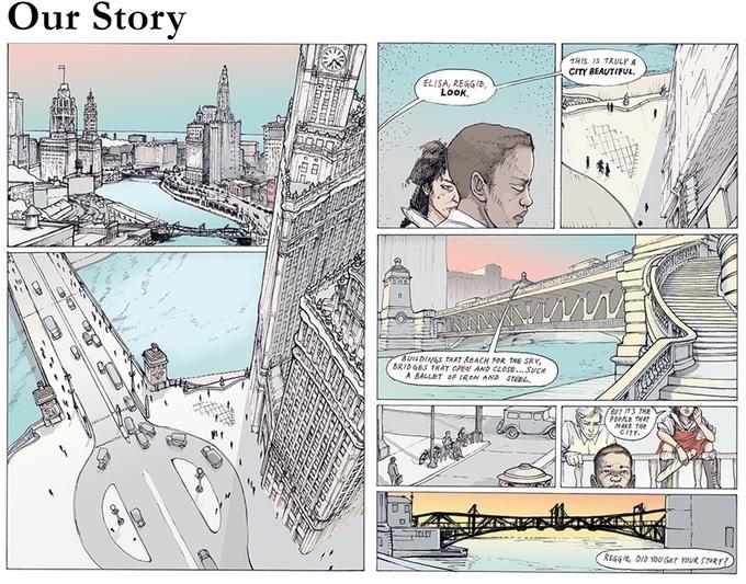 シカゴの都市計画を考えるノベルNo Small Plan