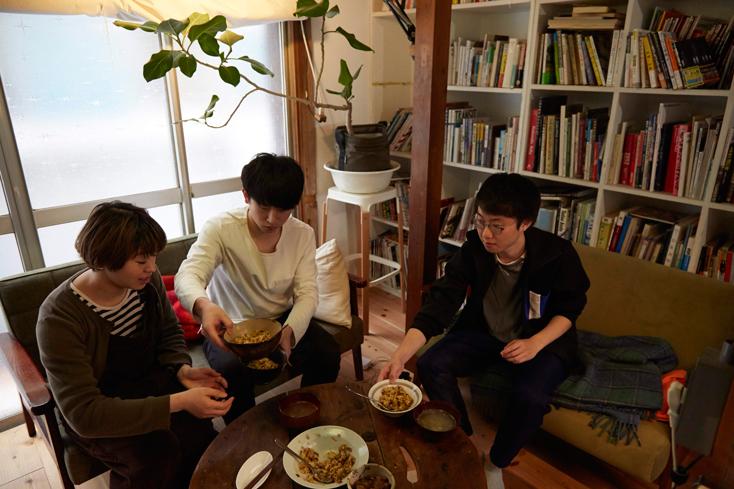 『Vamo.』が仲間入りして、またひとつ理想の暮らしに近づいたように見える三茶ハウス。『Vamo.』が家にきたことで、暮らしにどんな変化があった?