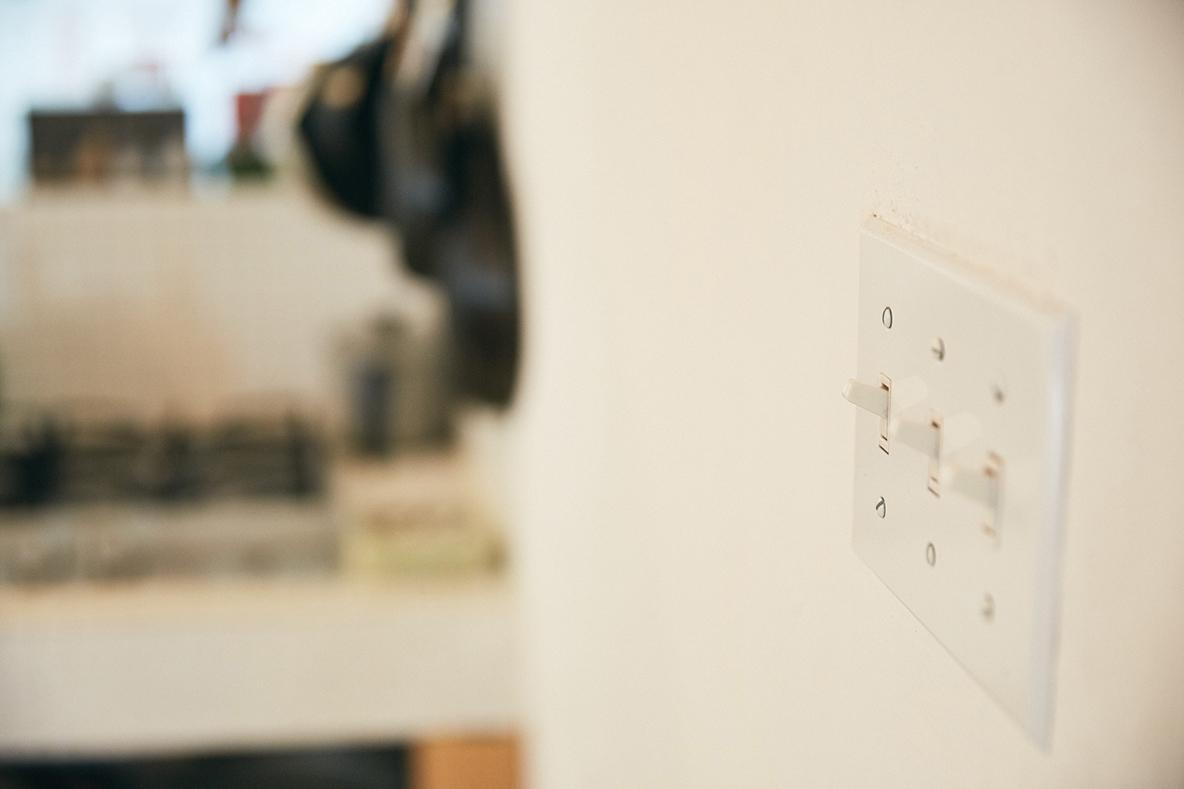 可愛い電気スイッチ