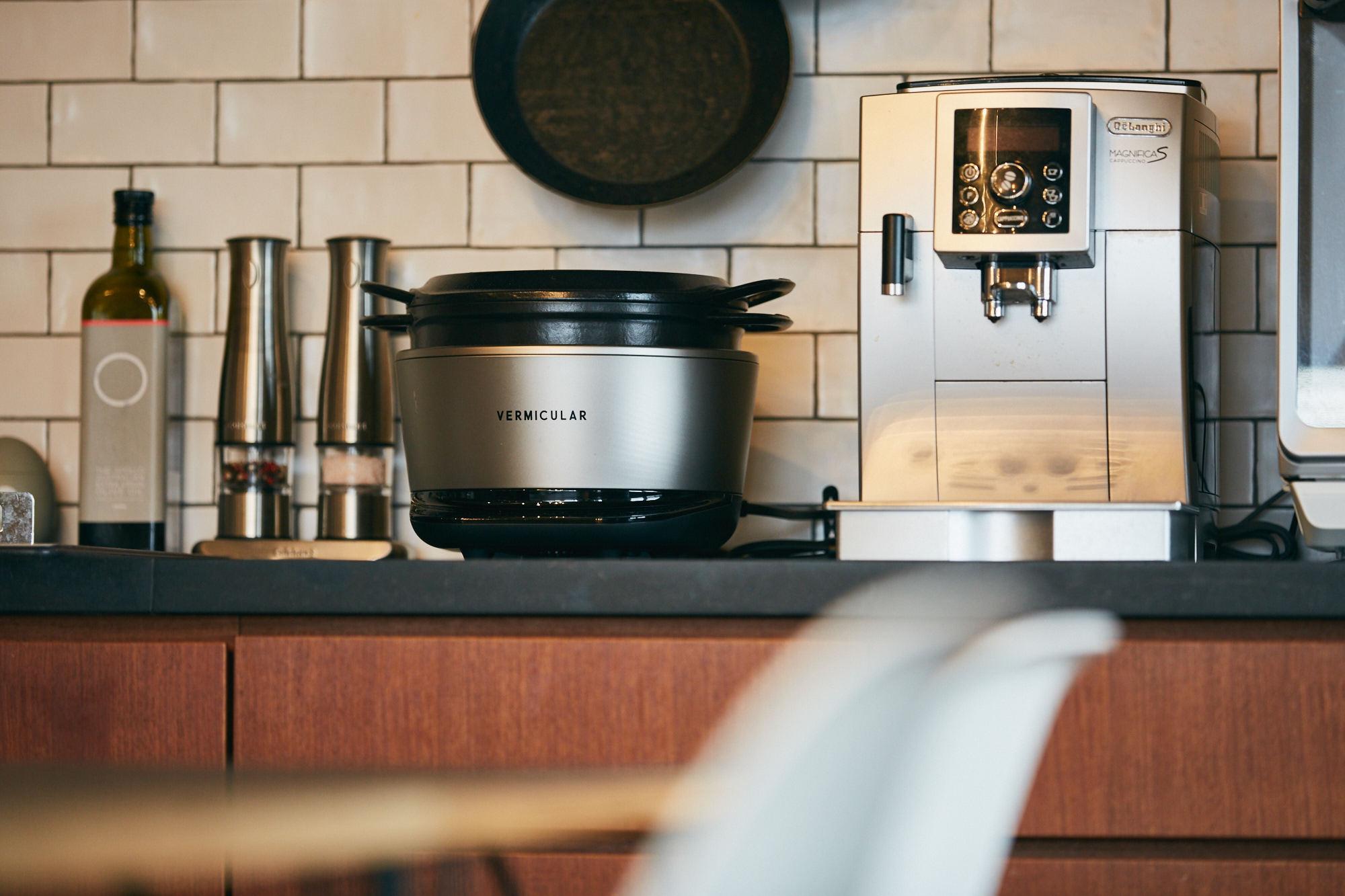バーミキュラの炊飯器