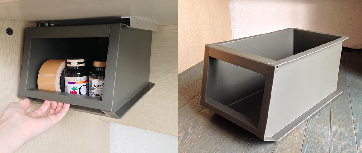 カインズの収納ボックスで、机の引き出しをDIY|マイ定番スタイル