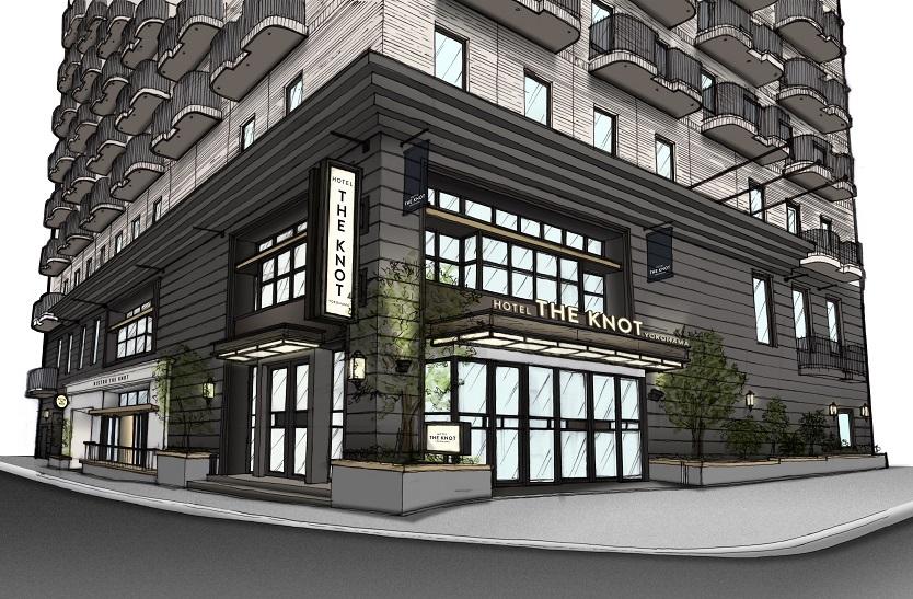 HOTEL THE KNOT YOKOHAMAは2017年以内に全館リニューアル予定