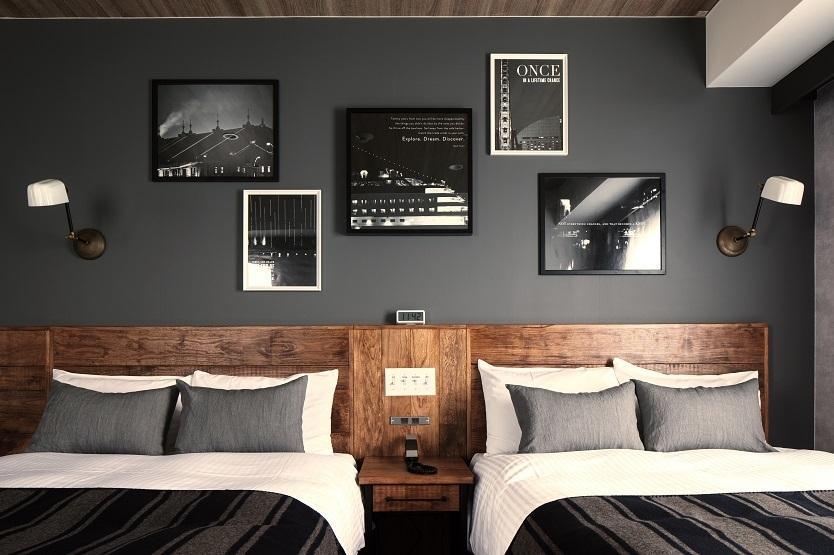 部屋作りの参考にしたい、客船のキャビンをイメージした横浜のホテル