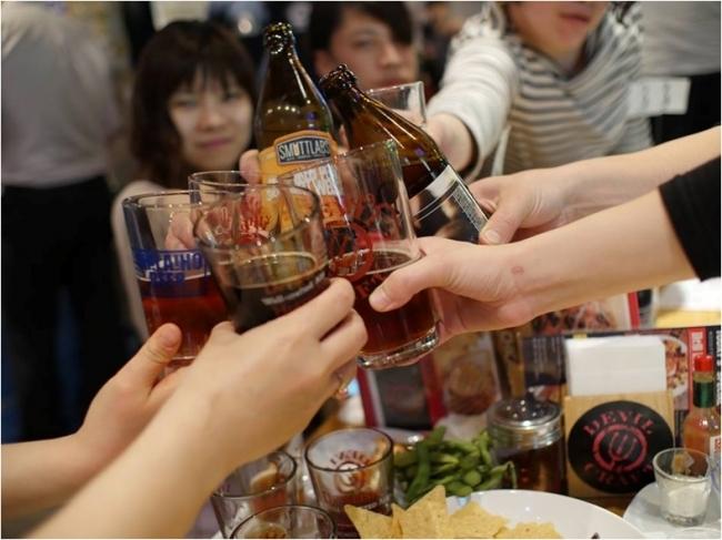 開始となる週末には2拠点で両会場合わせて100銘柄を超えるビールが集結するイベントが開催される