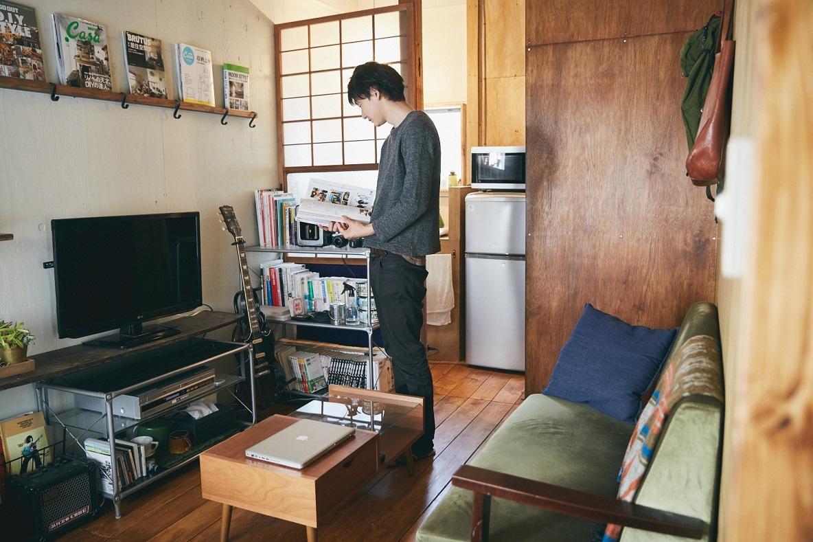 DIY男子の部屋