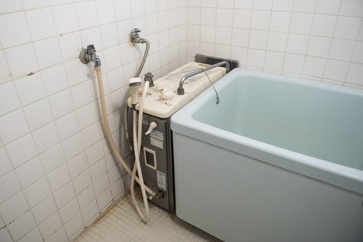 風呂がバランス釜