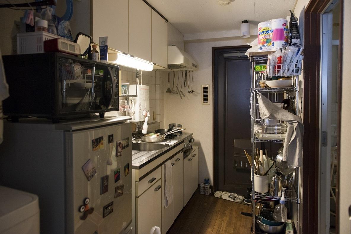 キッチンに光が入らない