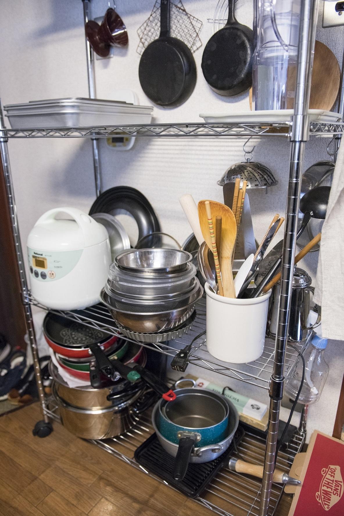 キッチンを使いやすくする工夫