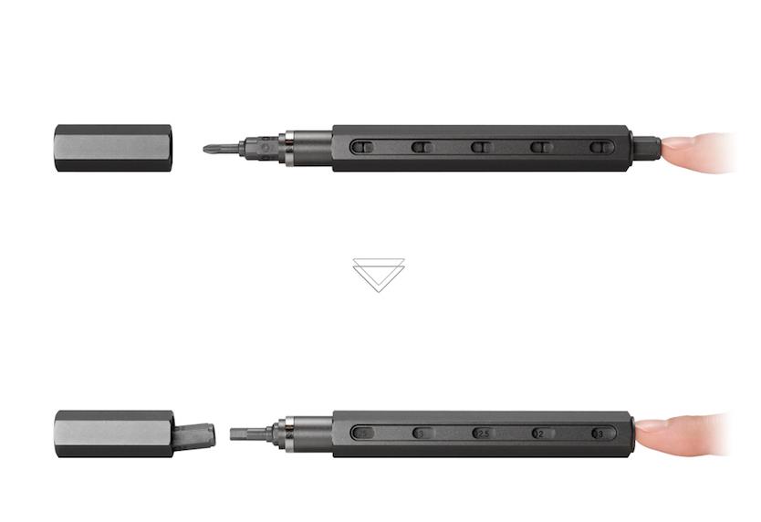 ロケット鉛筆と同じ原理