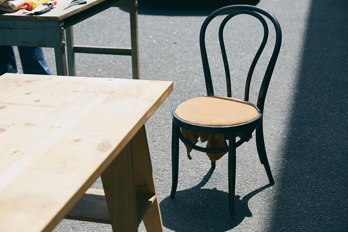 椅子の座面を簡単にDIY