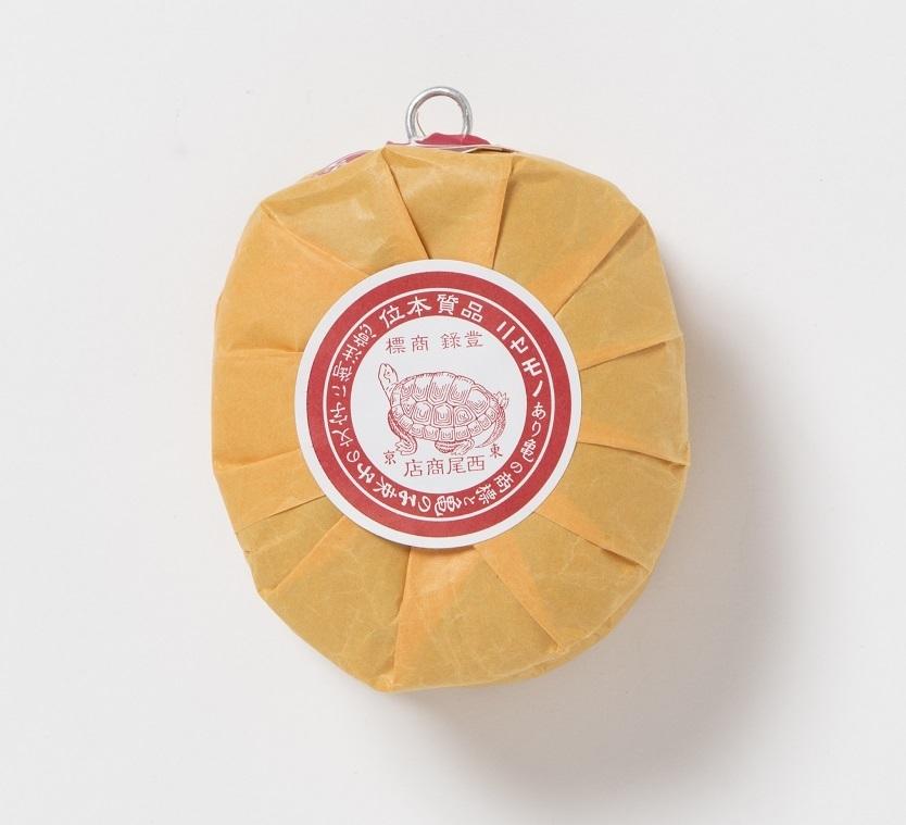 亀の子束子紙巻パッケージ