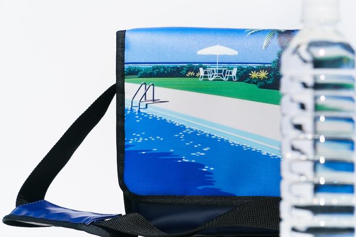 HIROSHI NAGAI / DELFONICSのレコードバッグ