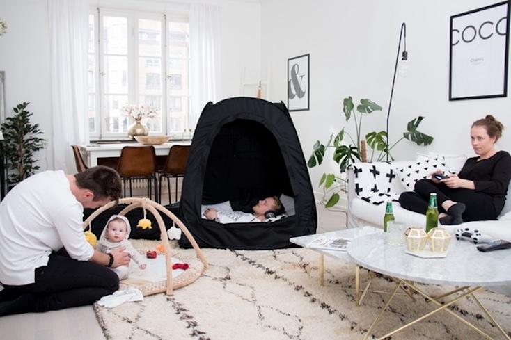 家の中でも外でも自分だけの空間を作り出せる「Pause Pod」