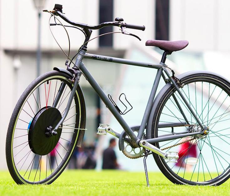 どんな自転車も電動自転車にする画期的なアイテム「UrbanX」