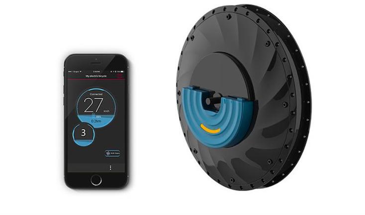 「UrbanX」は自転車の速度を3段階に変更できる