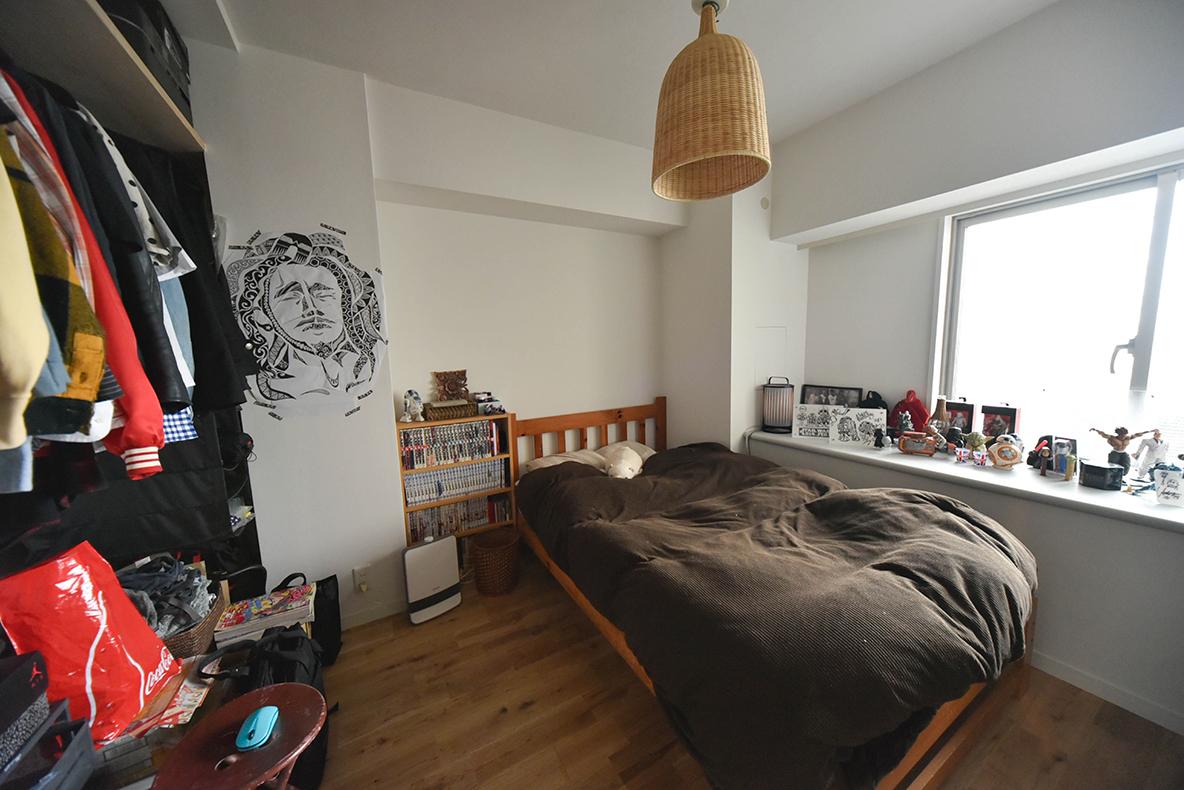 おしゃれな寝室